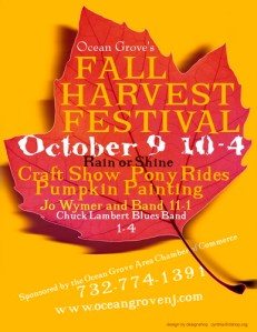 Jersey Shore Events: Ocean Grove Fall Harvest Festival