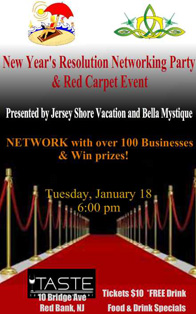 New Year's Resolution Networking Party at Taste in Red Bank
