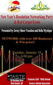 New Year's Resolution Party: Business Networking at Taste in Red Bank