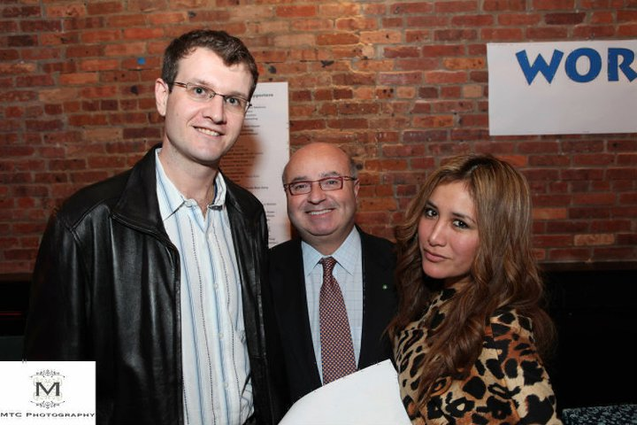 New Year's Resolution Party in Red Bank: Mayor Pat Menna