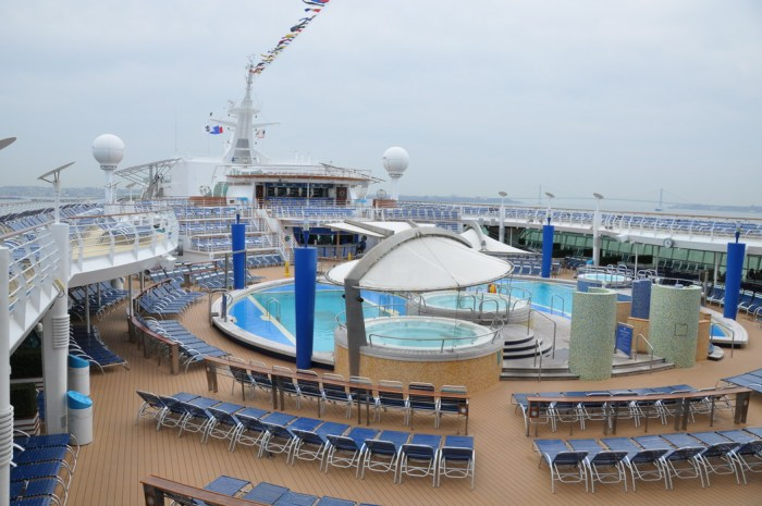 Jersey Shore Vacations: Royal Caribbean Explorer of the Seas Pool