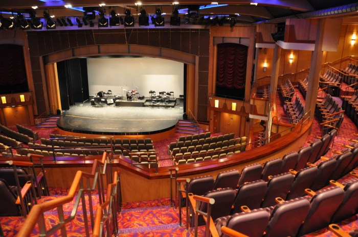 Jersey Shore Vacations: Explorer of the Seas Theater