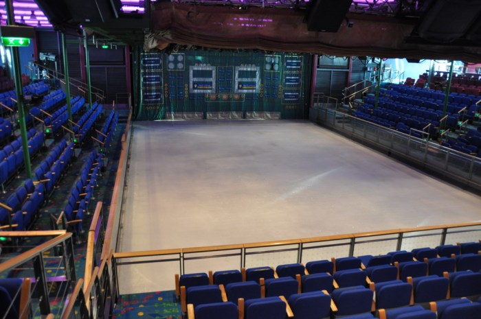 Jersey Shore Vacations: Explorer of the Seas Skating Rink