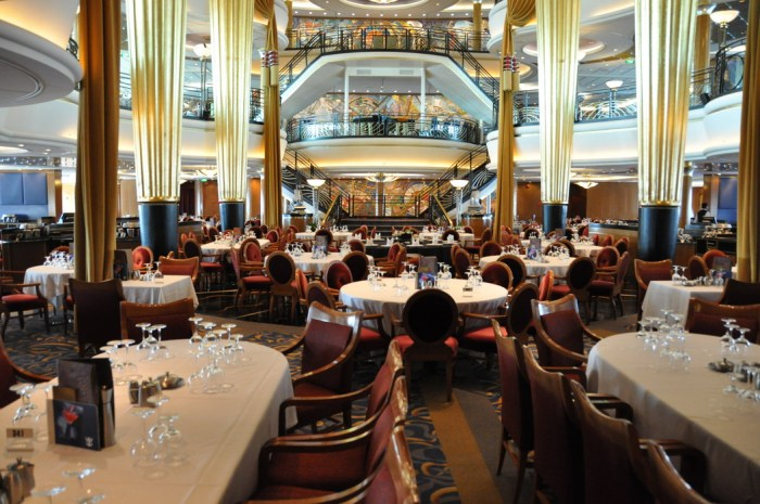 Jersey Shore Vacations: Explorer of the Seas Dining