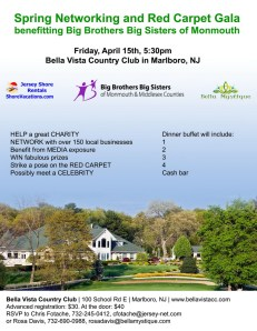 Spring Networking and Red Carpet Gala for Big Brothers Big Sisters