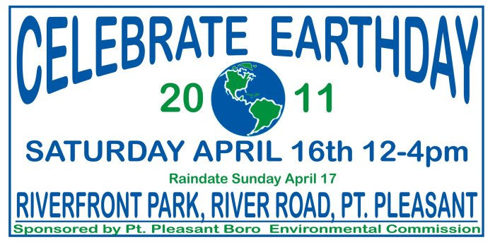 Jersey Shore Vacations: Point Pleasant Earth Day 2011