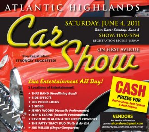 Jersey Shore Rentals: Atlantic Highlands Classic Car Show