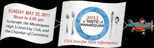 Jersey Shore Events: Taste of Manasquan