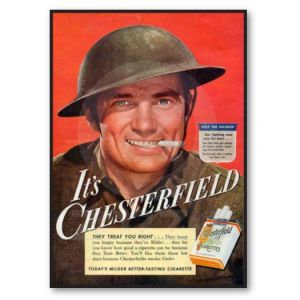 Cal Schwartz: Cigarette Ads