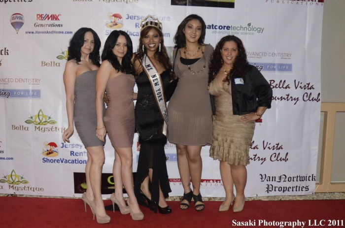 Bella Vista Networking with Ms NY Belleza Latina Helen Troncoso