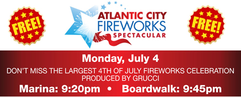 Jersey Shore July 4th Events: Atlantic City Fireworks Spectacular