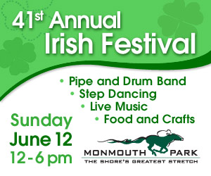 Jersey Shore Events: Monmouth Park Irish Festival