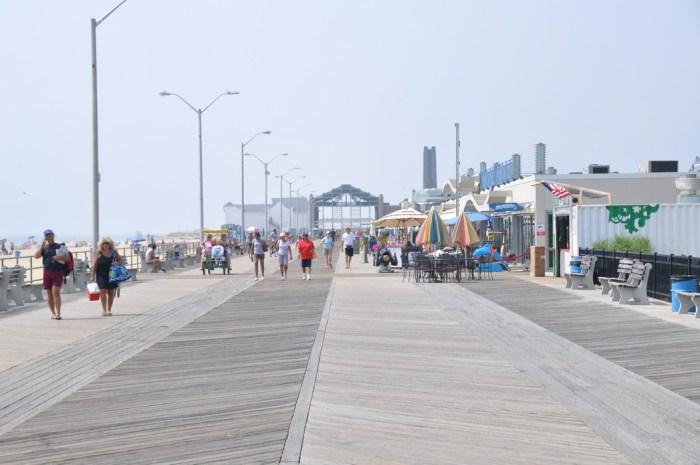 Asbury Park boardwalk, summer of 2011