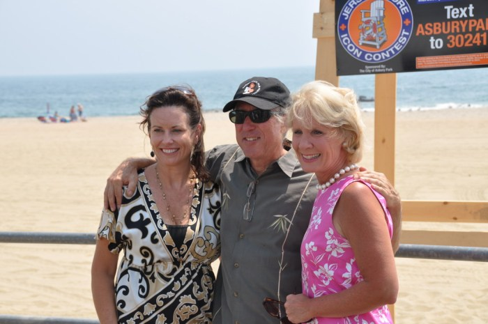 Grace Hanlon, Tom Gilmour and Mary Pat Angelini