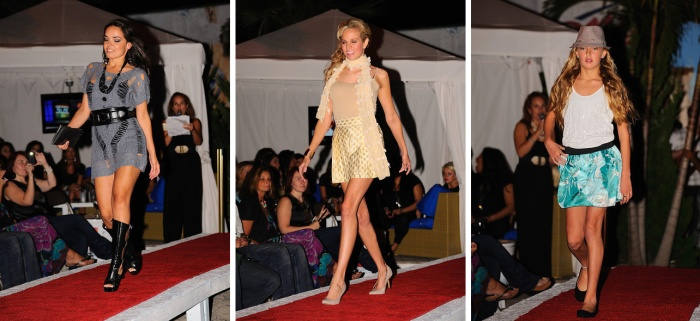 Jersey Shore Fashion Show Runway Models