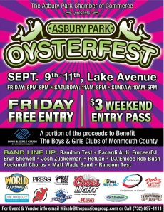 Jersey Shore Events: Asbury Park Oysterfest