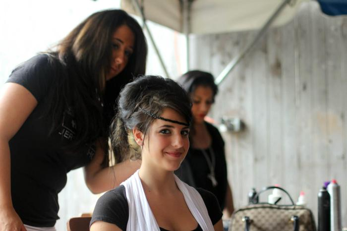 Jersey Shore Fashion Show behind the scenes