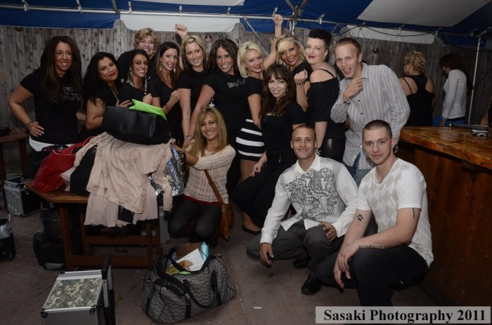 Jersey Shore Fashion Show: Hair stylists and makeover artists