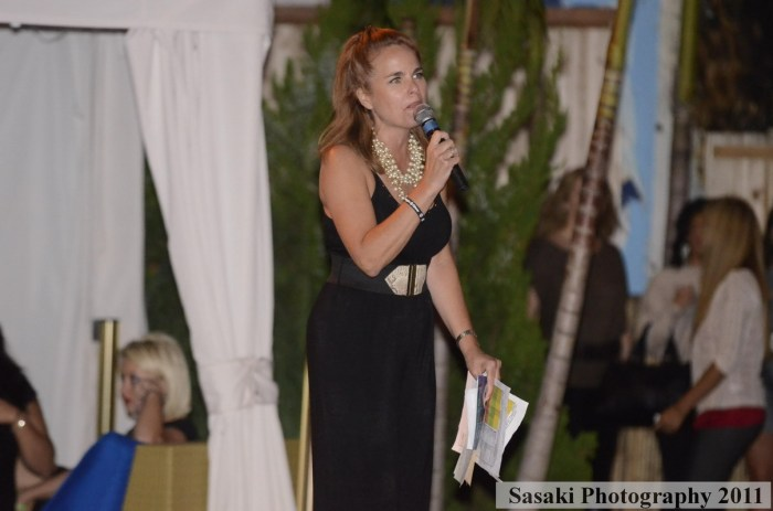 Jersey Shore Fashion Show: MC DonnaLyn Giegerich