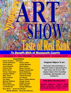 Mental Health Association (MHA) Art Show and Taste of Red Bank