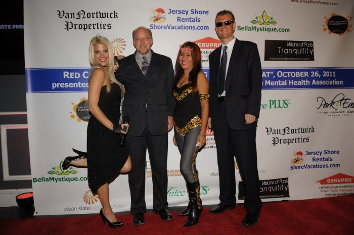 Red Carpet Business Networking at Park East, Mayor Scott Aagre