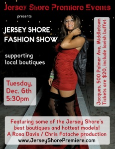 Jersey Shore Winter Fashion Show at Jacques, December 6