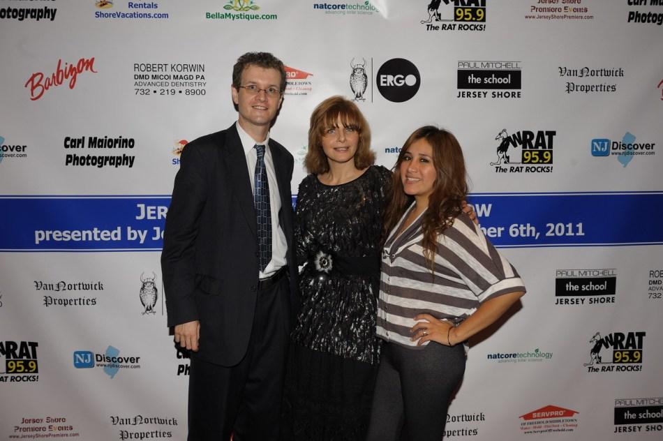 Jersey Shore Fashion Show: Chris Fotache and Rosa Davis with Rockin Robyn Lane