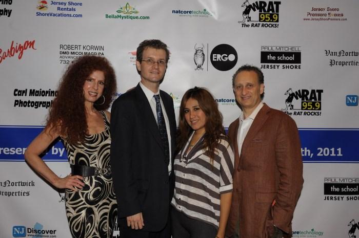 Jersey Shore Fashion: Susan Korwin, Dr Robert Korwin, Chris Fotache, Rosa Davis