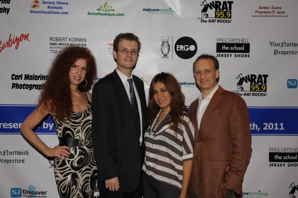 Jersey Shore Fashion: Susan Korwin, Dr Robert Korwin, Chris Fotache, Rosa Davis