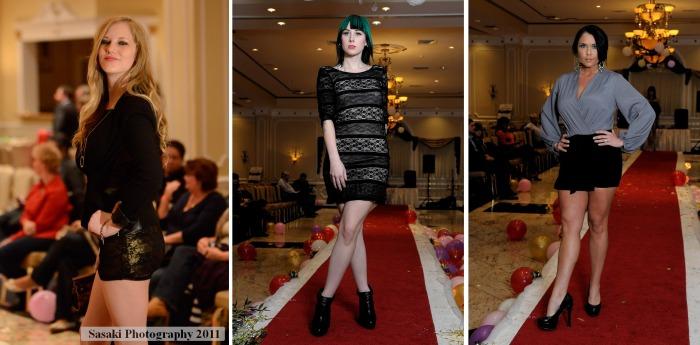 Jersey Shore Winter Fashion Show Runway Models