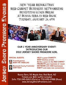 New Year Resolution Red Carpet Business Networking in Red Bank