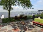 Jersey Shore Rentals: Brick Waterfront with Dock and Private Beach
