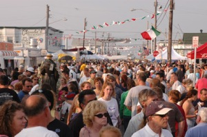 Jersey Shore Events: North Wildwood Italian American Festival