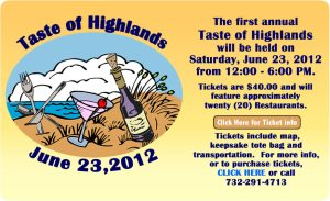 Jersey Shore Events: Taste of Highlands