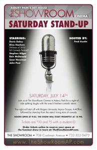 Jersey Shore Events: Comedy at The ShowRoom in Asbury Park