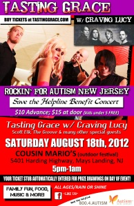Jersey Shore Events: Tasting Grace Rockin for Autism