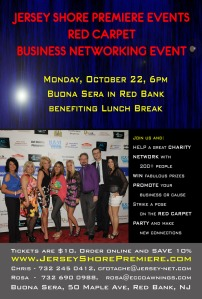 Red Carpet Business Networking in Red Bank at Buona Sera