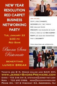 New Year Resolution Red Carpet Business Networking