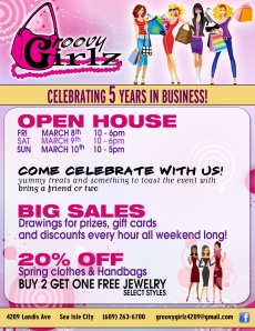 Jersey Shore Events: Groovy Girlz Sea Isle City reopening