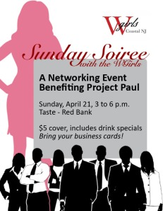 Jersey Shore Events: WGirls Sunday Soiree for Project Paul
