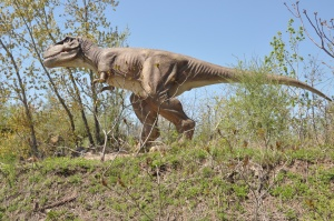 Jersey Shore Travel: T-Rex Dinosaur