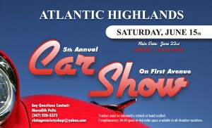 Jersey Shore Events: Atlantic Highlands Car Show