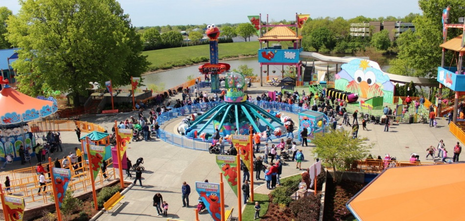 Sesame Place PA NJ