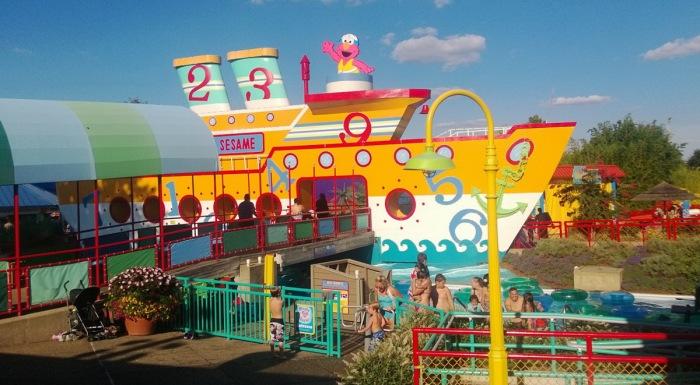 Sesame Place Waterpark Langhorne PA
