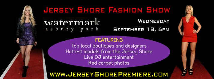 Jersey Shore Fashion Show 2013