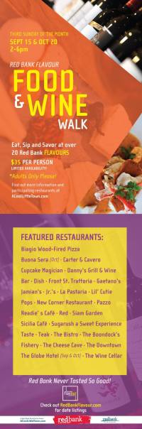 Red Bank Events: Food and Wine Walk