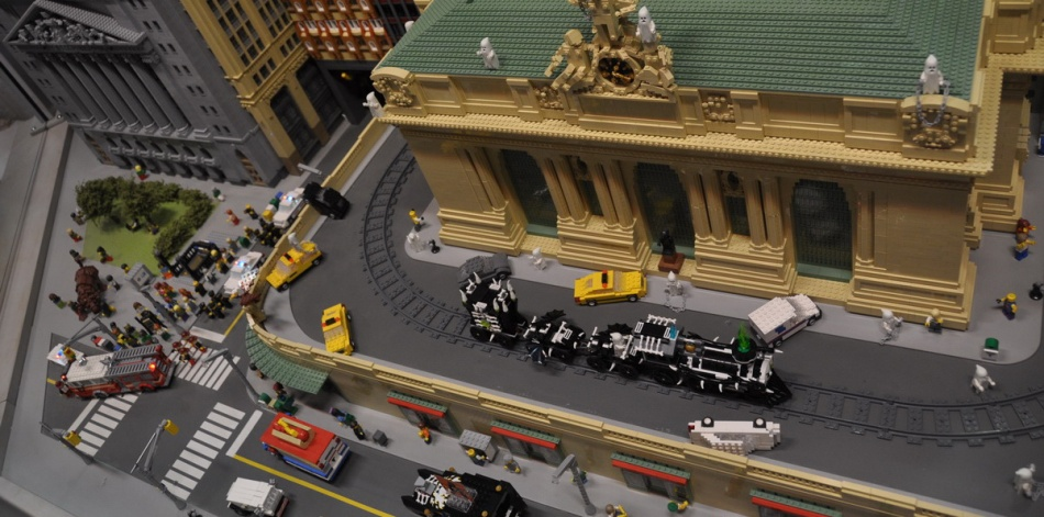 Legoland Discovery Center New York MIniland