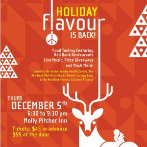 Red Bank Events: Holiday Flavour Molly Pitcher Inn
