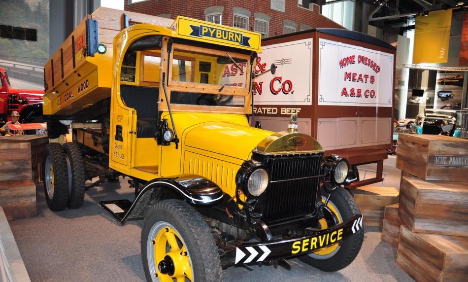 Pennsylvania cars motorcycles trucks museum