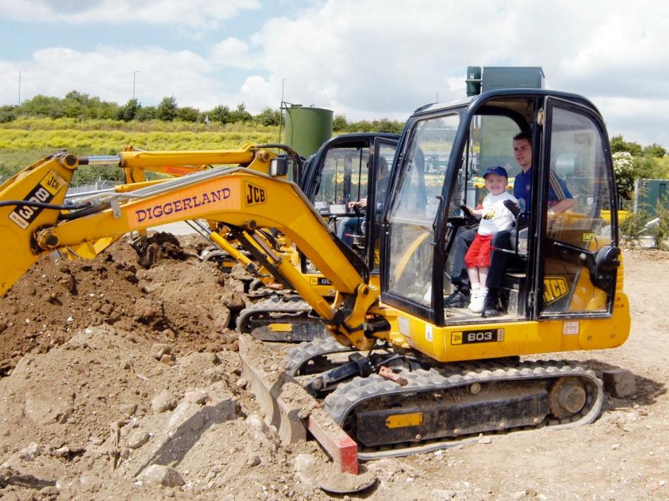 Diggerland NJ Diggers Backhoes Excavators